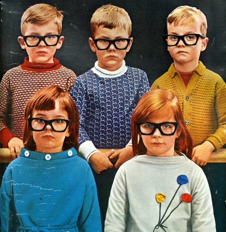 What did people think of autism in the 1960s - Kids with glases