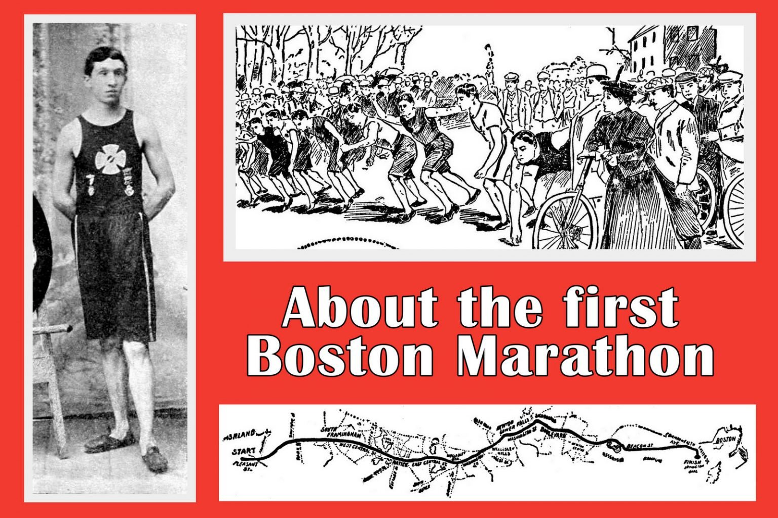 What the first Boston Marathon was like back in 1897