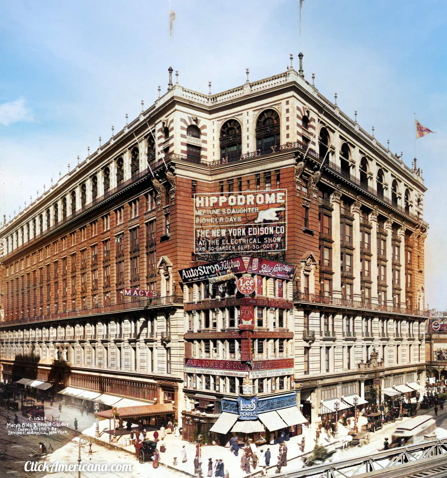 What the old Macy's department store in downtown NYC looked like