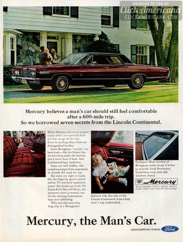 Ford Mercury, the Man's Car (1966)