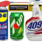 Where did vintage brand names like 7-Up, Formula 409 & WD-40 come from?