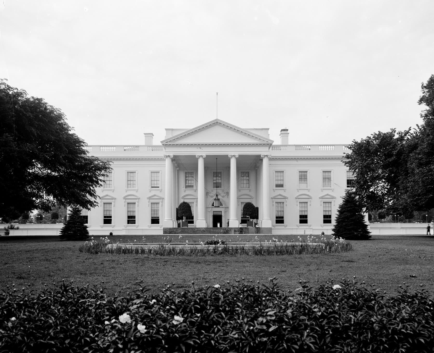 White House, Washington, DC (1905)