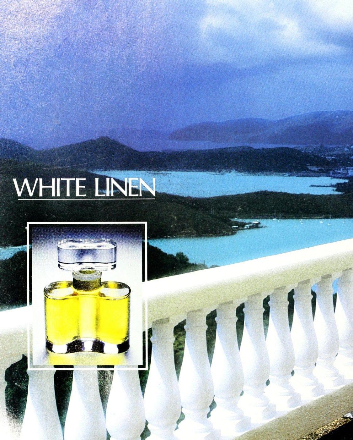 White Linen fragrance 1989