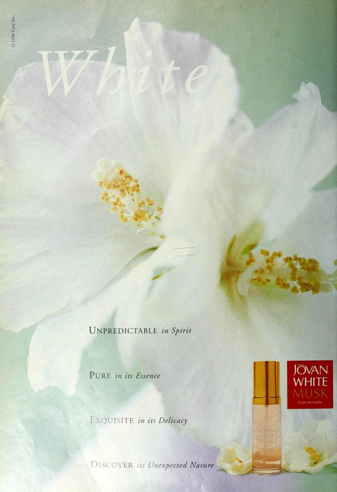 White Musk by Jovan (1998) at ClickAmericana.com