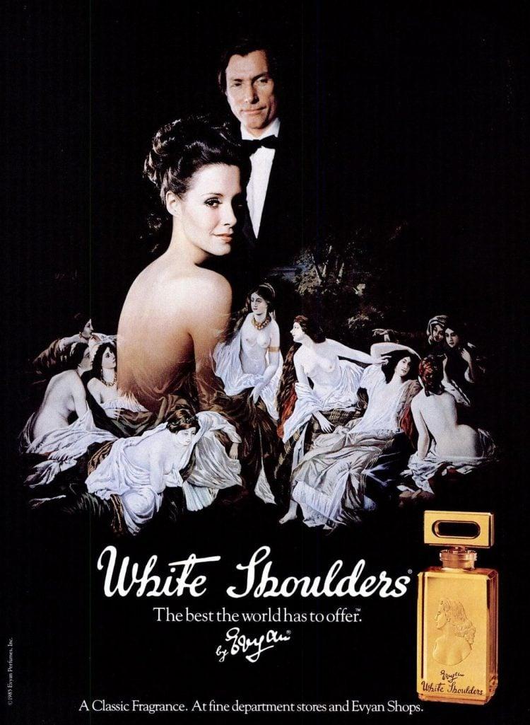 White Shoulders fragrance - 1986