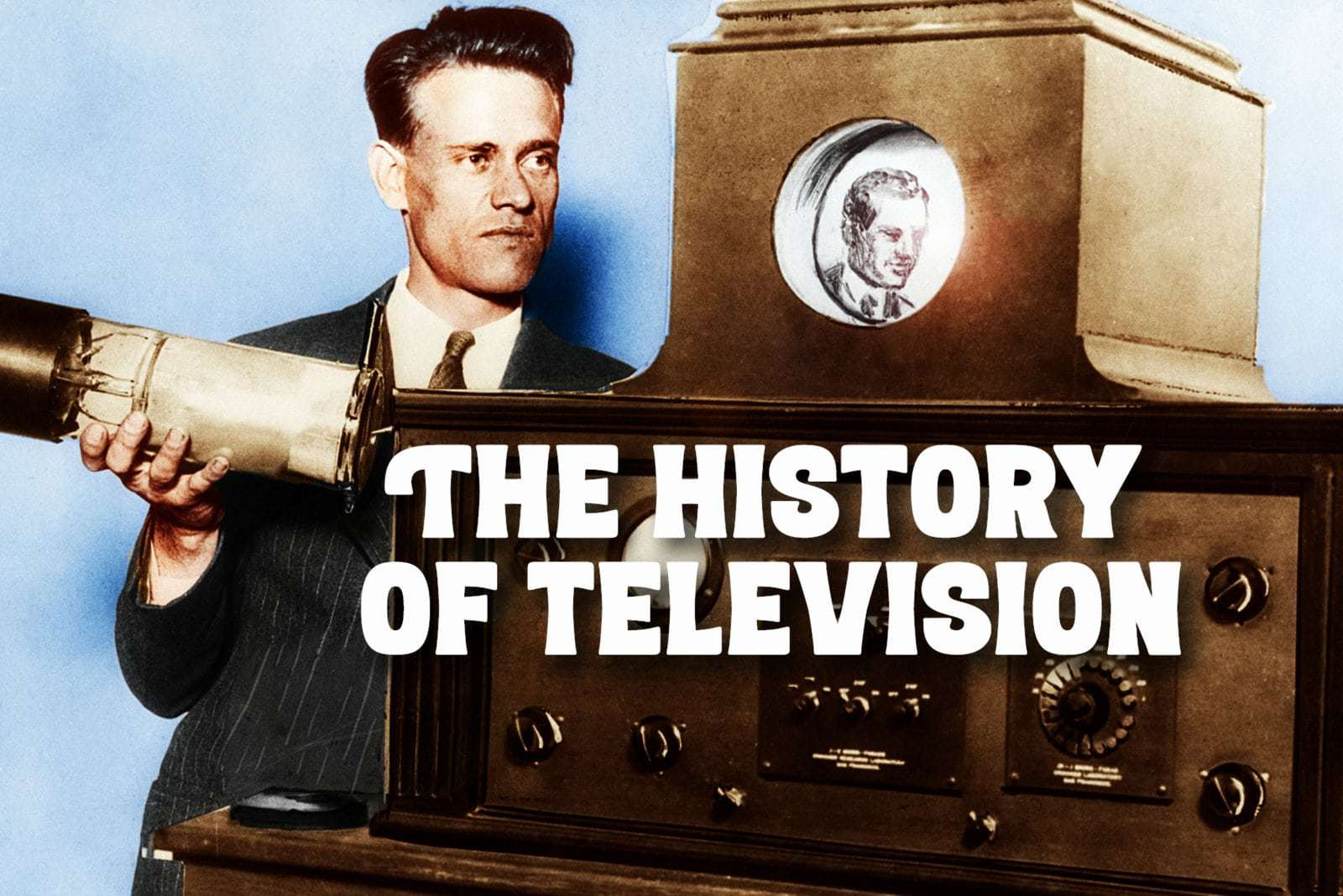 Who invented television A look back at the history of TV