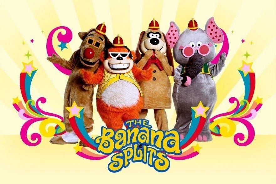 Who remembers the Banana Splits kids TV show