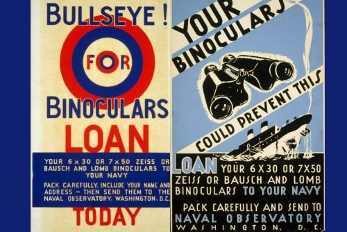 Why the Navy wanted binoculars for WWI & WWII