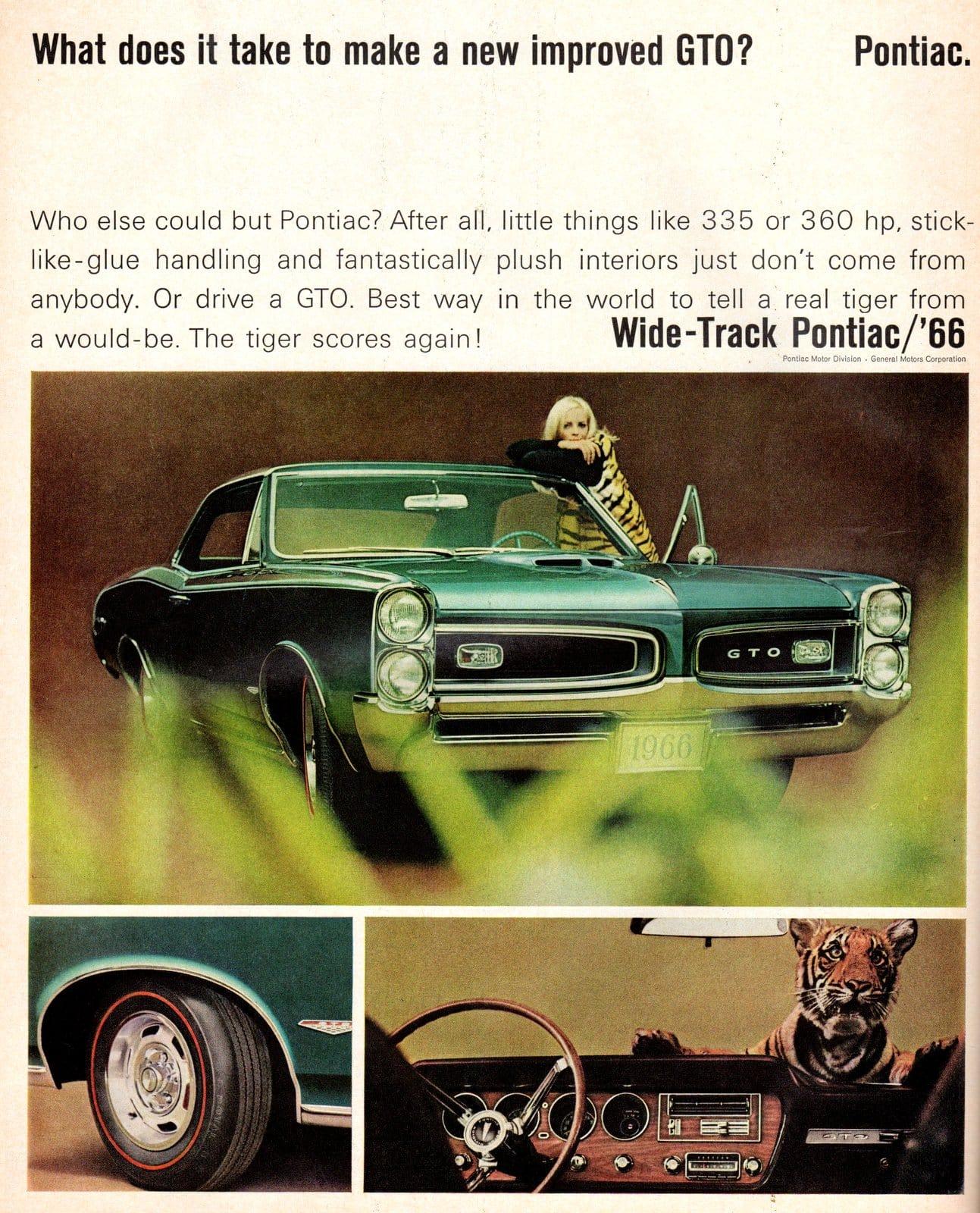 Wide-Track Pontiac GTO 1966