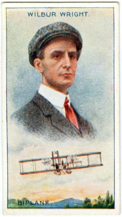 Wilbur Wright - Air flight - first successful airplane