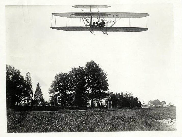 Wilbur Wright airplane (early) (2)