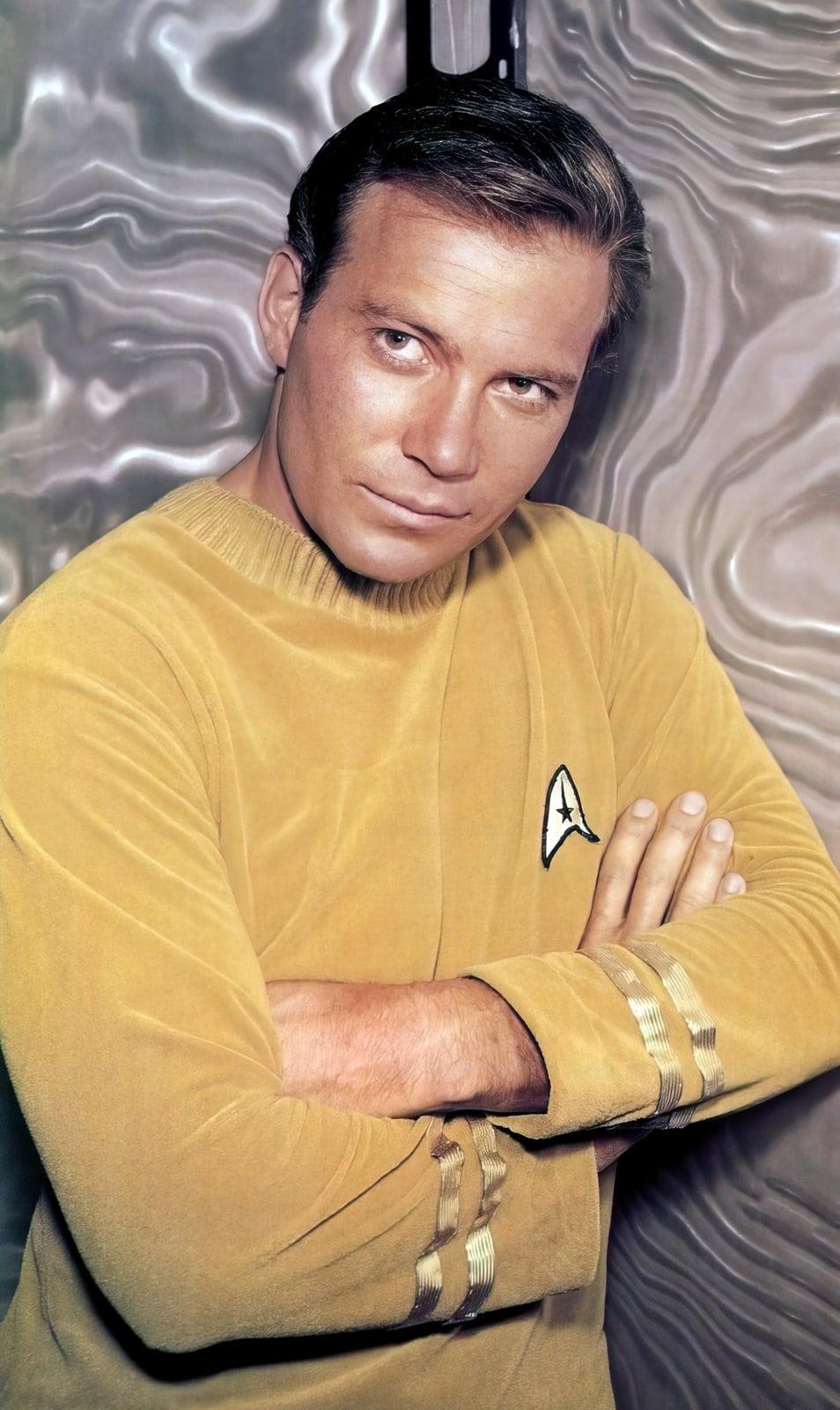 William Shatner as Captain James T Kirk - Star Trek