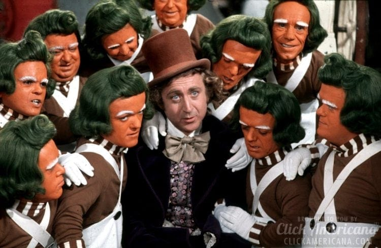 Willy Wonka and Oompa-Loompas 1971