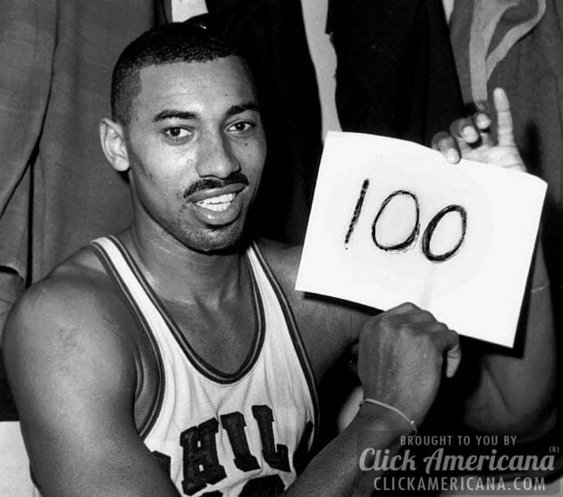 Wilt Chamberlain's 100 point game (1962)