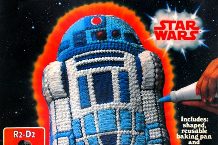 Wilton Star Wars cake decorating kit 1983