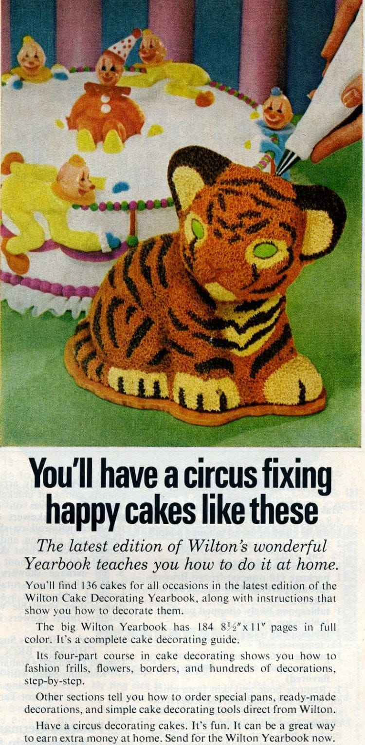 Wilton Yearbook of cake decorating 1975