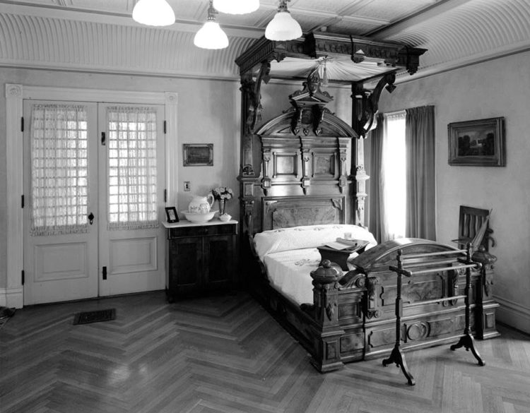 Winchester House bedroom
