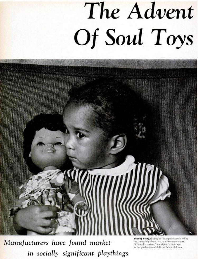 Winking Winny doll from 1967