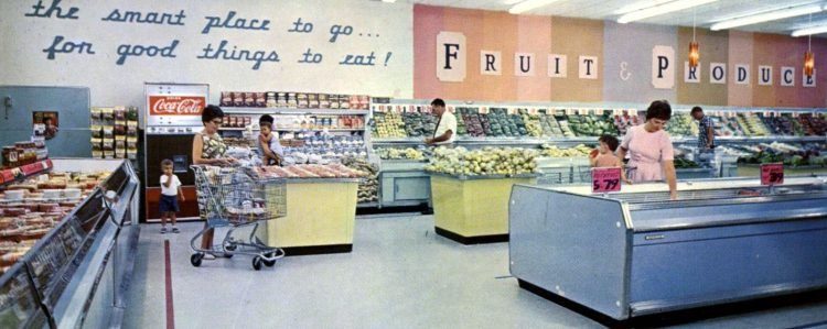 Winn-Dixie retro grocery store - 1966 9