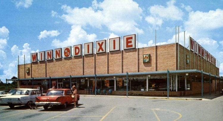 Winn-Dixie vintage grocery store - 1966 10