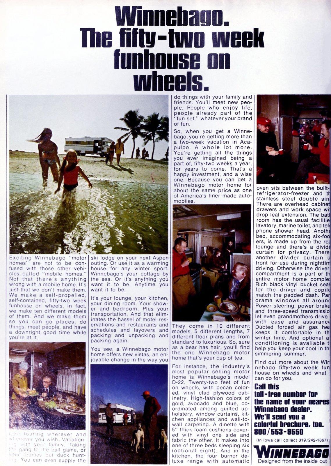 Winnebago The fifty-two week funhouse on wheels (1970)