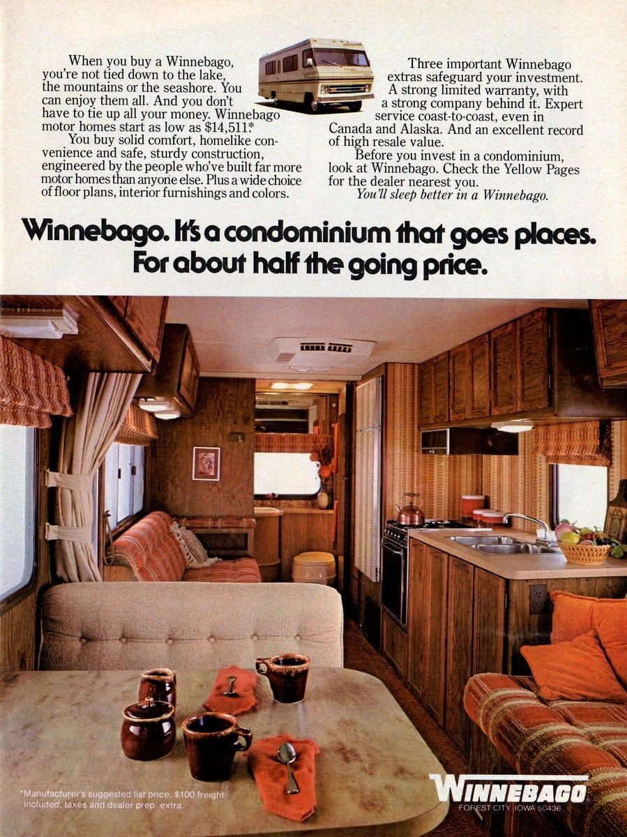 Winnebago - a condominium that goes placed (1979)