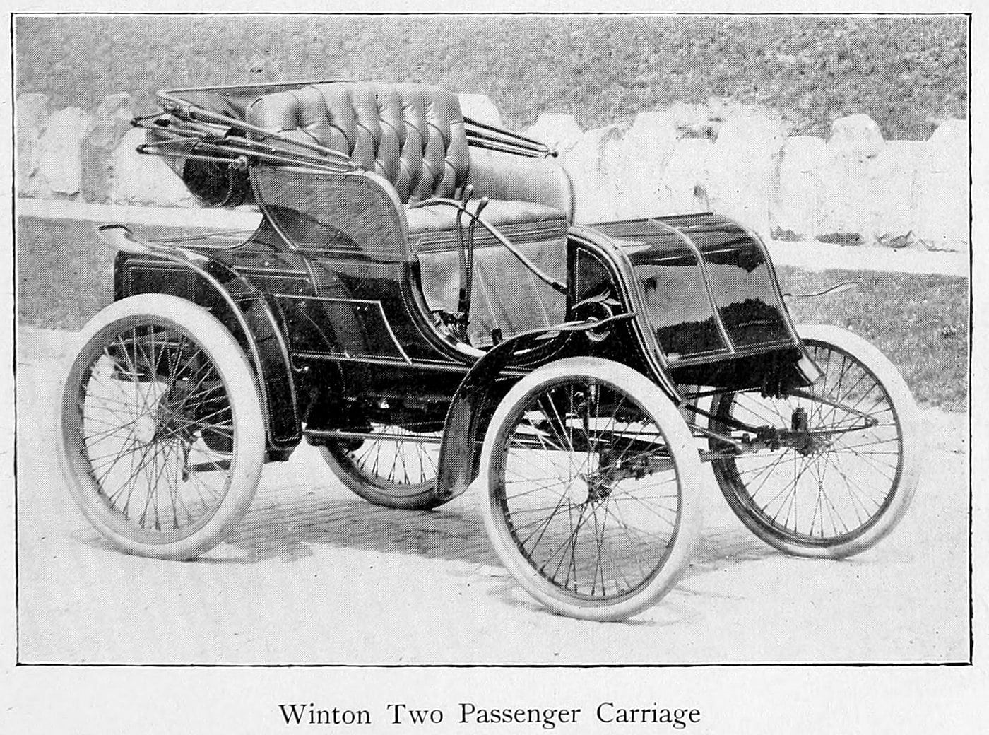 Winton two passenger carriage (1900)