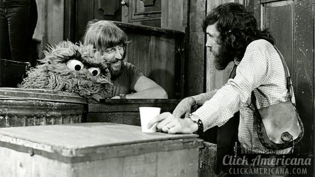 With Jim Henson from I Am Big Bird The Caroll Spinney Story