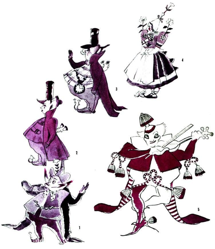 Wizard of Oz - Munchkin costumes