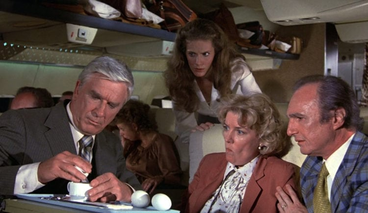 Airplane A Zany Spoof On Hollywood Disaster Movies 1980 Click