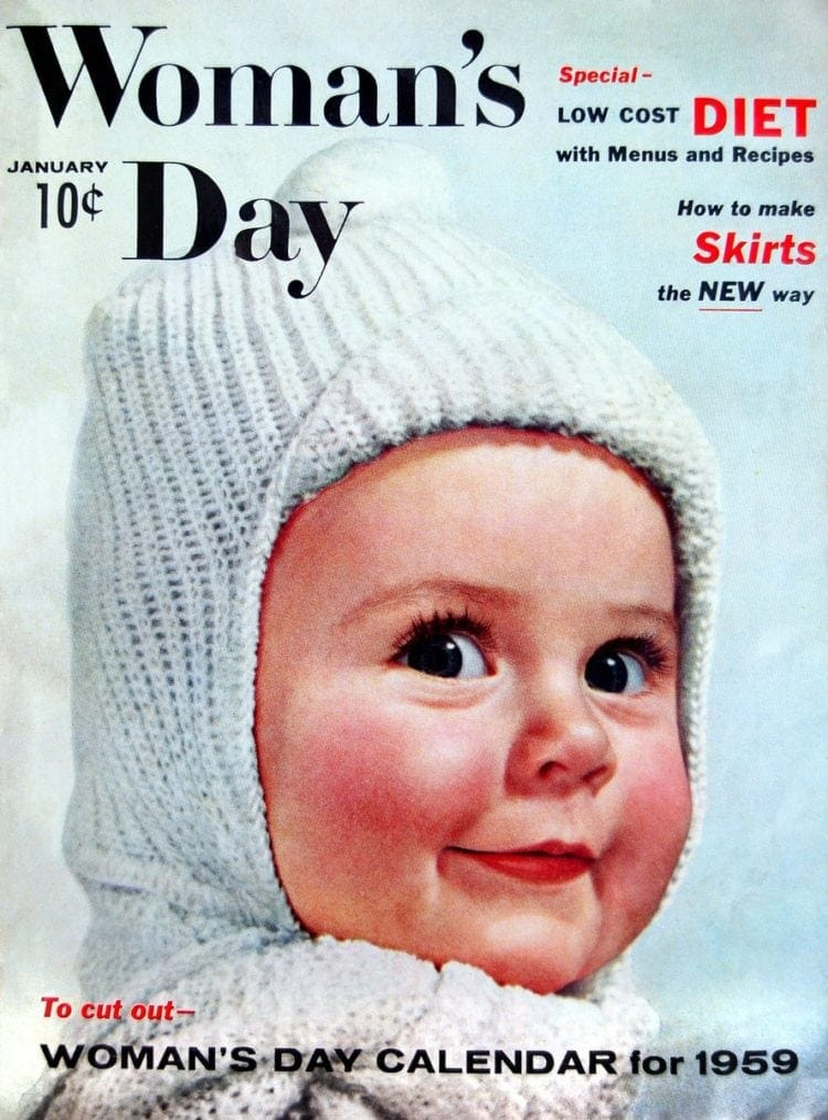 Woman's Day Magazine - January 1959