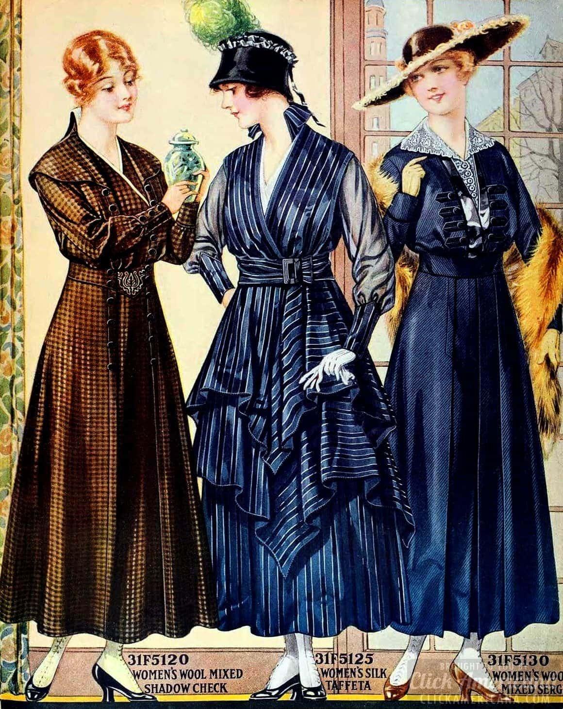 Vintage plus-size fashion advice (1914)