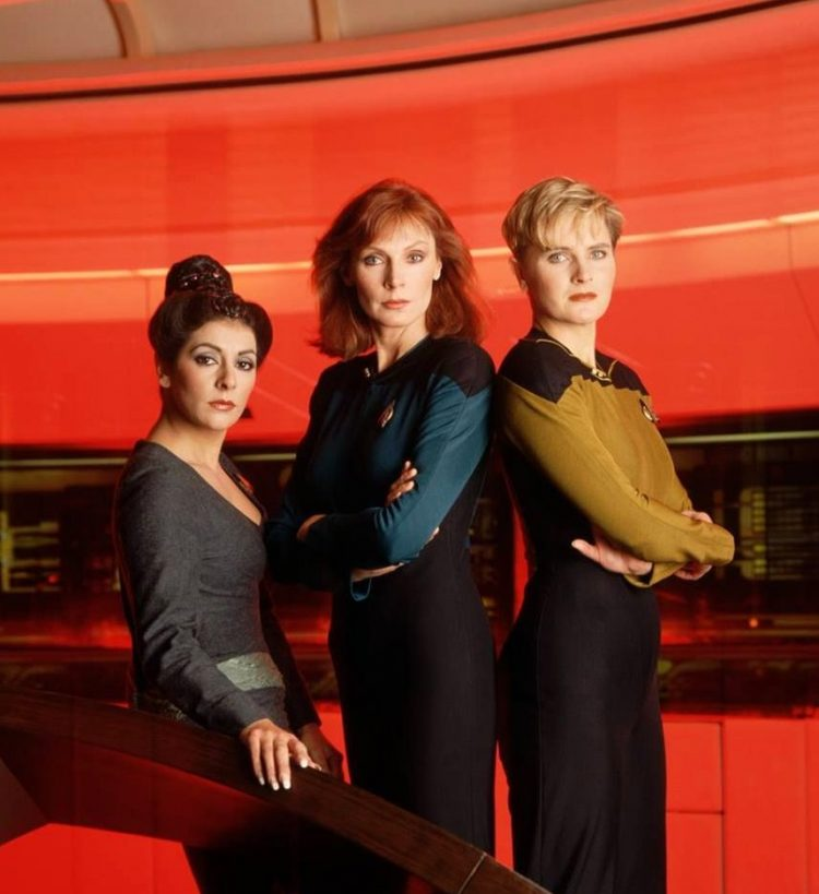 Women of Star Trek The Next Generation season 1