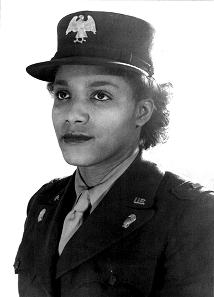 Army Pioneer Violet Hill - WAC