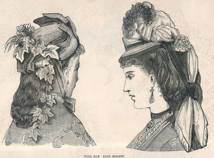 Women's antique hairstyles from 1872 (5)