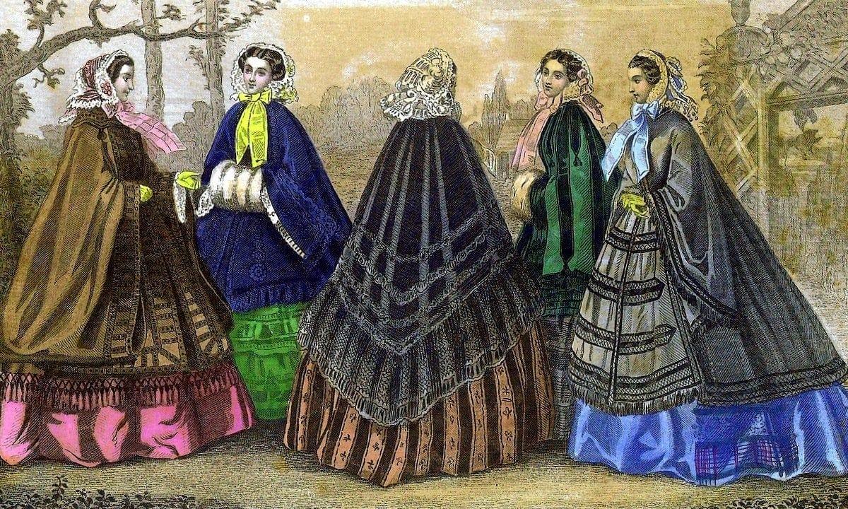 Women's dress 1950s