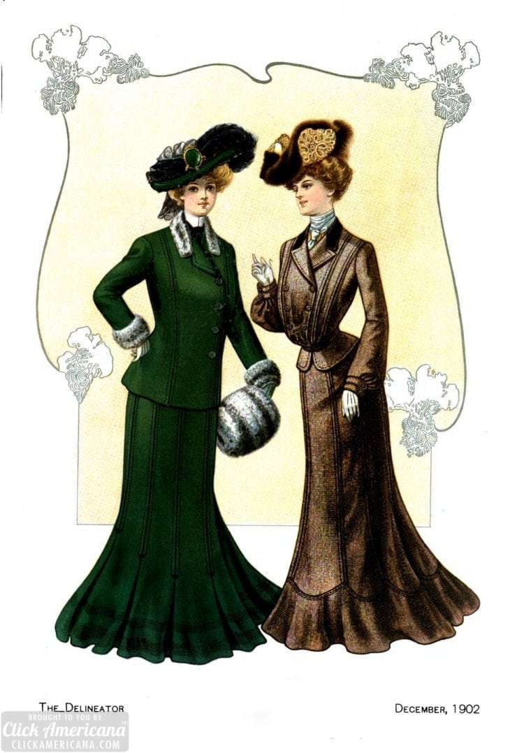 Women's fashion from 1902