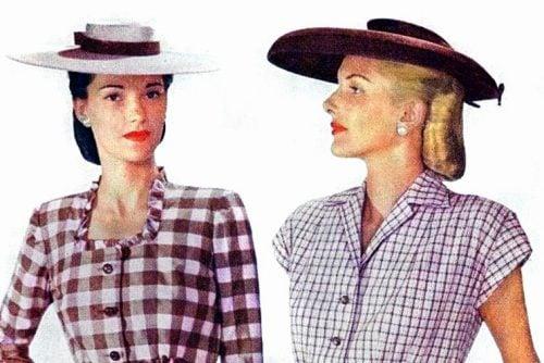 Women's fashion from 1955 - Styles to wear