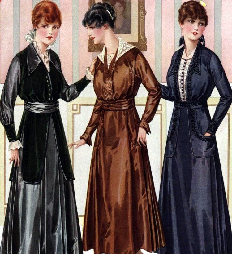 Women's hairstyles (1916)