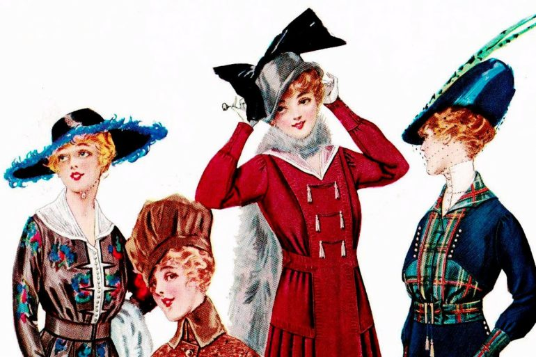 Women's hats - 1915 - Delineator
