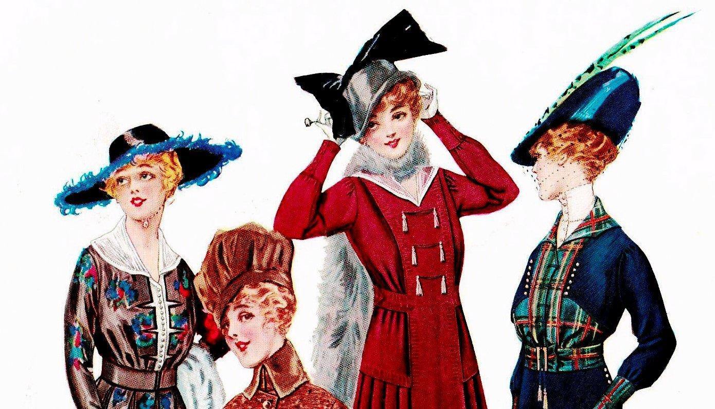 Women's hats - 1915 - Delineator