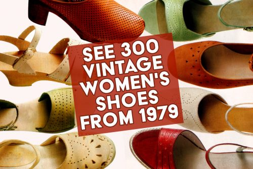 Women's shoes from the 1979 Sears catalog