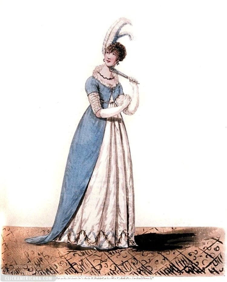 Dress from 1802