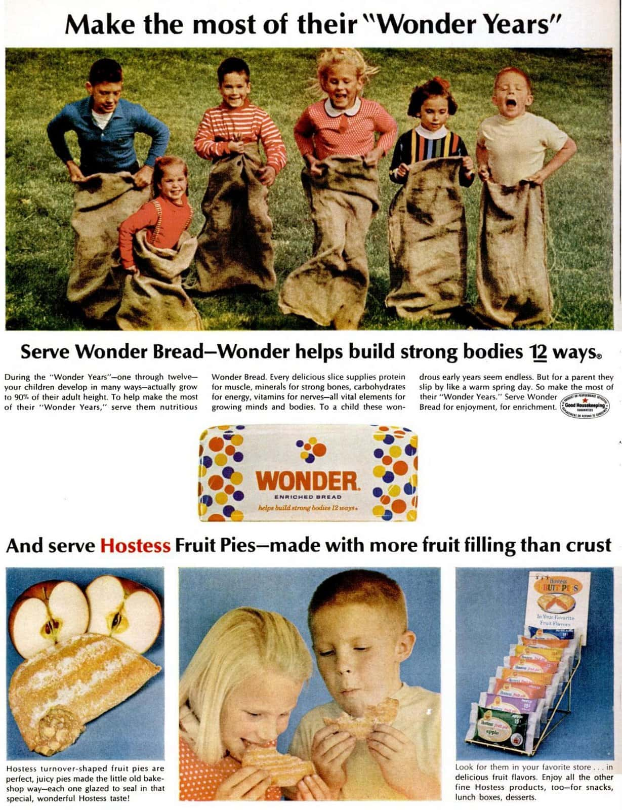 Wonder Bread and Hostess Fruit Pies (1966)