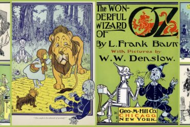 Wonderful Wizard of Oz book from 1900