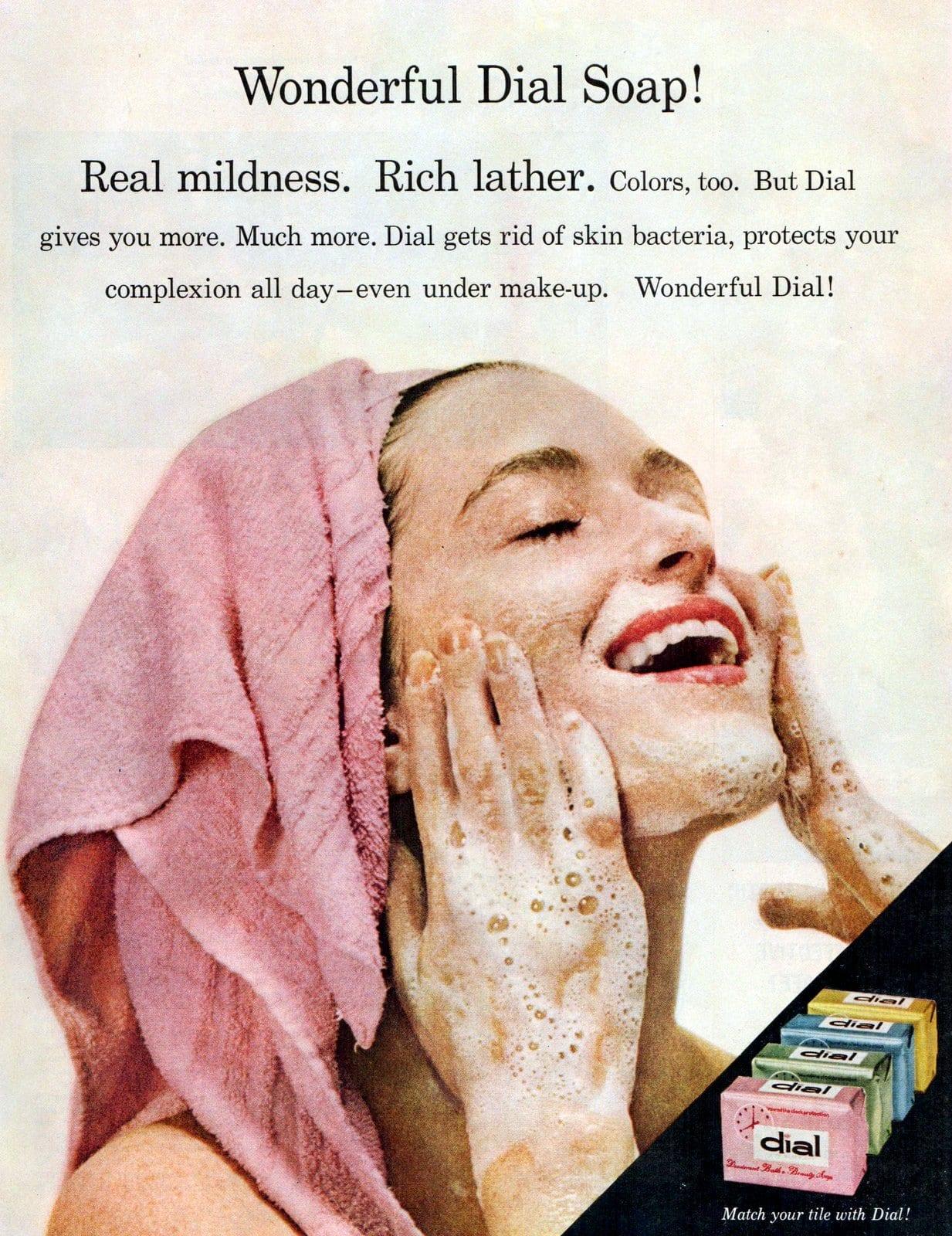 Wonderful dial soap - Vintage 1958