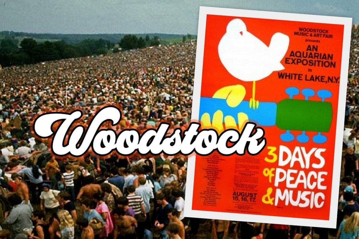 Unique Vintage Woodstock Art Fair Exposition Advertising Print.Choice of 2 sizes