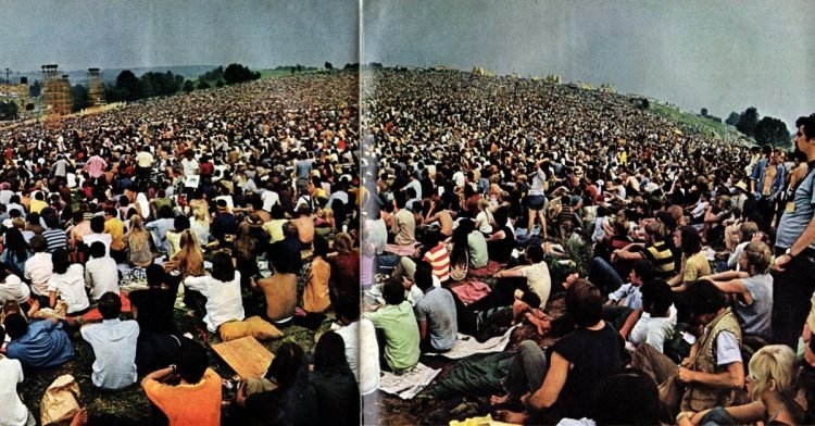 Woodstock festival in Life - August 1969 (3)