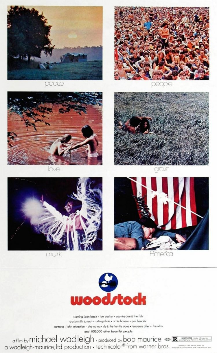 Woodstock the Movie - Vintage ads (2)
