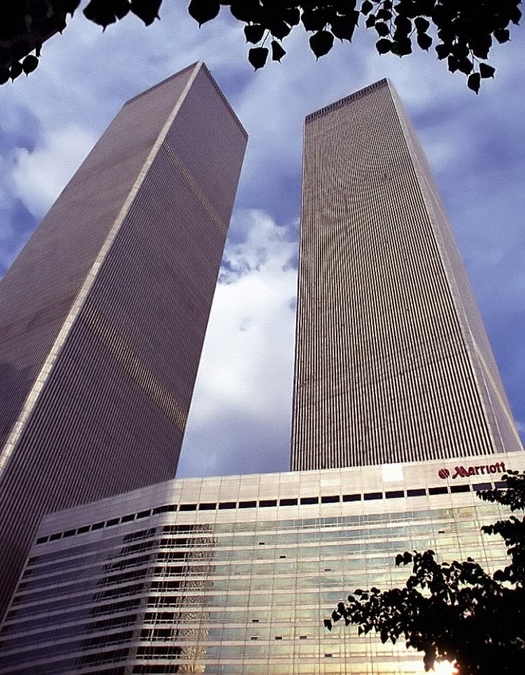 World Trade Center and Marriott Hotel (May 15, 2001)